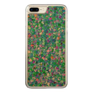 Multicolor Mosaic Modern Grit Glitter #2 Carved iPhone 8 Plus/7 Plus Case