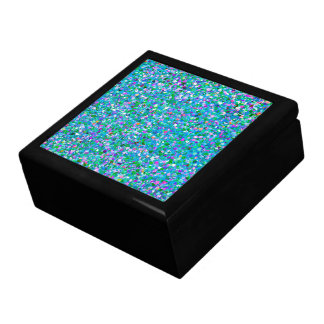Multicolor Mosaic Modern Grit Glitter #2 Gift Box