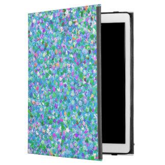 "Multicolor Mosaic Modern Grit Glitter #2 iPad Pro 12.9"" Case"