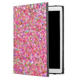 "Multicolor Mosaic Modern Grit Glitter #4 iPad Pro 12.9"" Case"