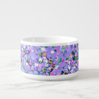 Multicolor Mosaic Modern Grit Glitter #6 Bowl