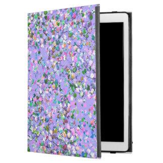 "Multicolor Mosaic Modern Grit Glitter #6 iPad Pro 12.9"" Case"