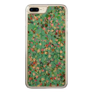 Multicolor Mosaic Modern Grit Glitter #7 Carved iPhone 8 Plus/7 Plus Case