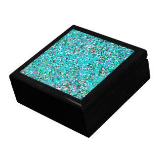 Multicolor Mosaic Modern Grit Glitter #7 Gift Box