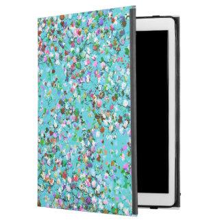 "Multicolor Mosaic Modern Grit Glitter #7 iPad Pro 12.9"" Case"