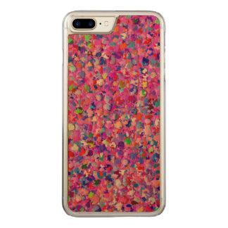 Multicolor Mosaic Modern Grit Glitter #8 Carved iPhone 8 Plus/7 Plus Case
