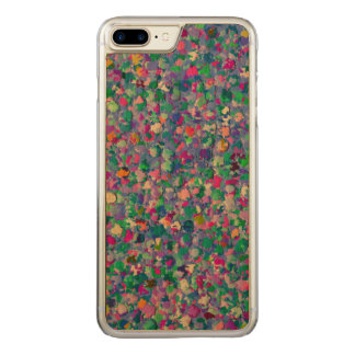 Multicolor Mosaic Modern Grit Glitter Carved iPhone 8 Plus/7 Plus Case