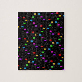 MULTICOLOR PATTERN JIGSAW PUZZLE