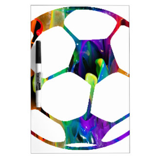 MULTICOLOR SOCCER BALL PRODUCTS DRY ERASE BOARD