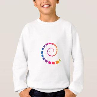Multicolor Spiral Sweatshirt