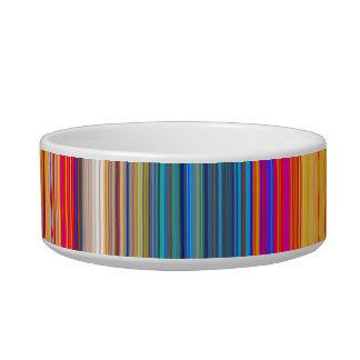 Multicolor Striped Pattern Bowl