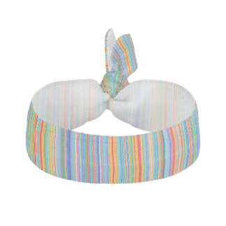 Multicolor Striped Pattern Hair Tie