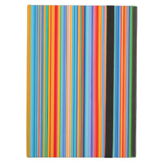 Multicolor Striped Pattern iPad Air Case