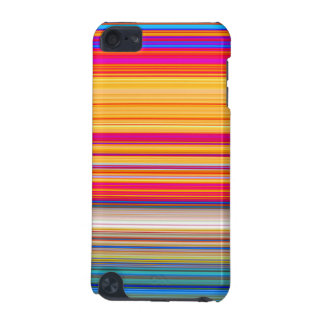 Multicolor Striped Pattern iPod Touch 5G Cases