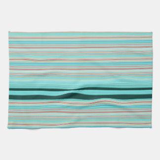 Multicolor Striped Pattern Kitchen Towel
