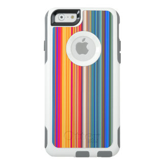 Multicolor Striped Pattern OtterBox iPhone 6/6s Case