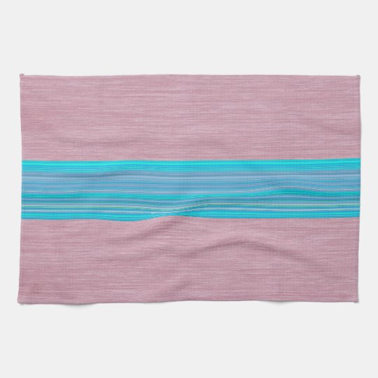 Multicolor Striped Pattern Towels