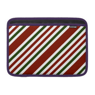 Multicolor Stripes Pattern Sleeves For MacBook Air