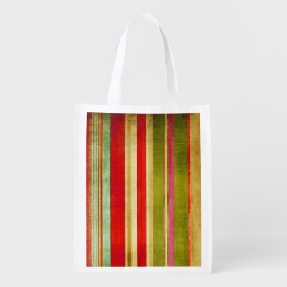 multicolor texture Reusable Bag Market Totes