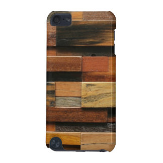 Multicolor Textured Wood Collage iPod Touch 5G Cases