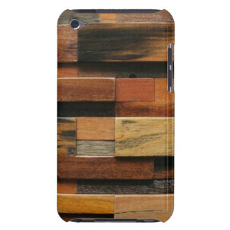 Multicolor Textured Wood Collage iPod Touch Case-Mate Case