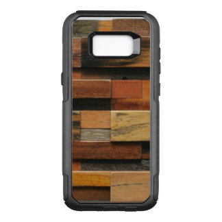 Multicolor Textured Wood Collage OtterBox Commuter Samsung Galaxy S8+ Case