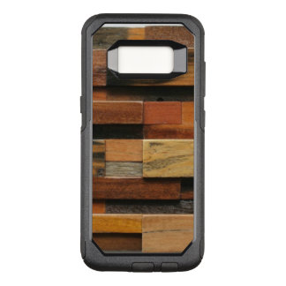 Multicolor Textured Wood Collage OtterBox Commuter Samsung Galaxy S8 Case