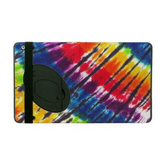 Multicolor tie-dye case