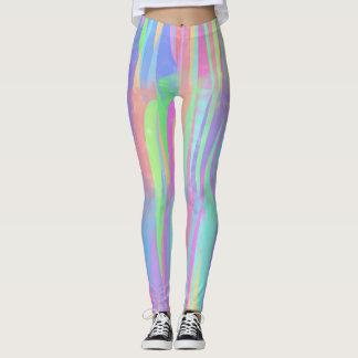 Multicolor Verticals Leggings