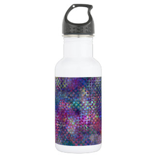 Multicolored Abstract Digital Art 532 Ml Water Bottle