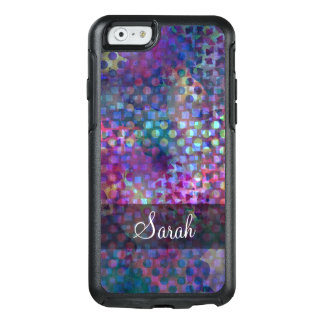 Multicolored Abstract Digital Art OtterBox iPhone 6/6s Case