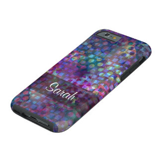 Multicolored Abstract Digital Art Tough iPhone 6 Case
