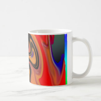 Multicolored Abstract Mug