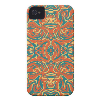Multicolored Abstract Ornate Pattern Case-Mate iPhone 4 Case