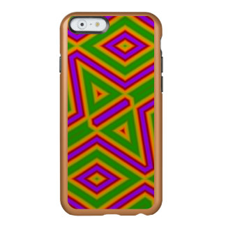Multicolored abstract pattern incipio feather® shine iPhone 6 case