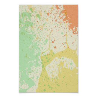 Multicolored  Abstract Poster
