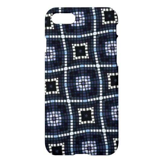 multicolored abstract small square pattern iPhone 8/7 case