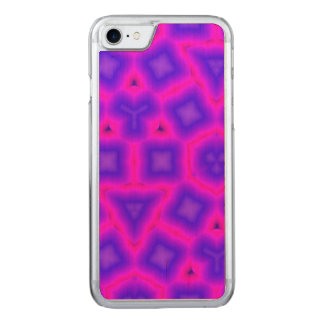 Multicolored abstract trendy pattern carved iPhone 8/7 case