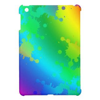 Multicolored and colorful color splash iPad mini case