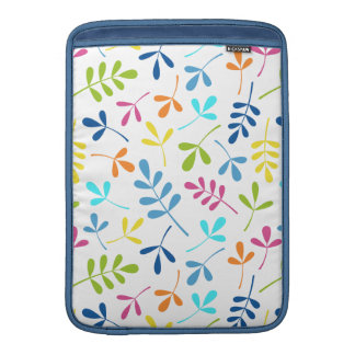 Multicolored Assorted Leaves Pattern MacBook Sleeves
