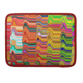 Multicolored bag sleeves for MacBooks