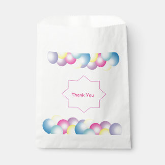 Multicolored balloon Birthday party themed Favour Bag