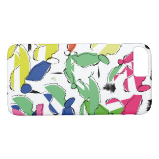 Multicolored bird iPhone 8/7 case