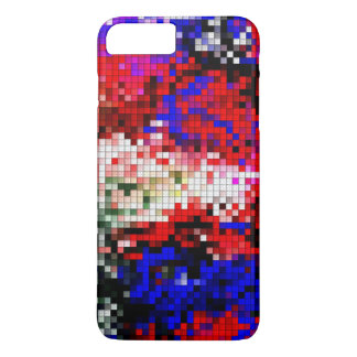 multicolored block case for iPhone 7 plus