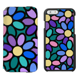 Multicolored blooms incipio watson™ iPhone 6 wallet case