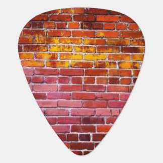 Multicolored Brick Guitar Picks
