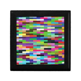multicolored bricks gift box