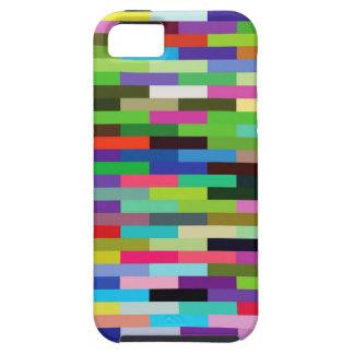multicolored bricks iPhone 5 case