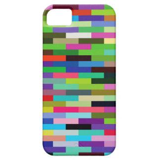 multicolored bricks iPhone 5 cover
