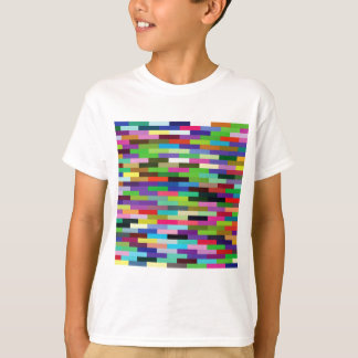 multicolored bricks T-Shirt